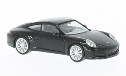 Porsche 991 4S 1/87 Herpa 911  Carrera metallise black diecast model cars