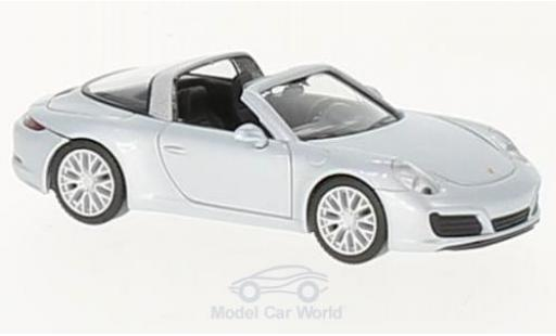 Porsche 911 Targa 1/87 Herpa 4S grey diecast model cars