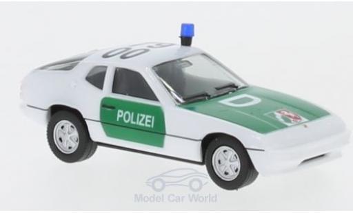 Porsche 924 1/87 Herpa Polizei Nordrhein-Westfalen miniatura