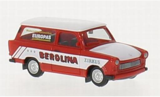 Trabant 601 1/87 Herpa Universal Zirkus Berolina miniature