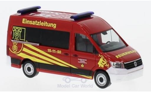 Volkswagen Crafter 1/87 Herpa Bus HD ELW Feuerwehr Liebenburg/Goslar diecast model cars