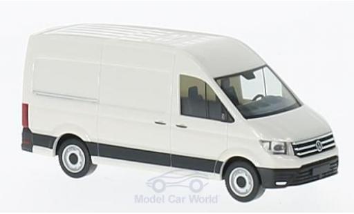 Volkswagen Crafter 1/87 Herpa Kasten Hochdach white 2016 diecast model cars