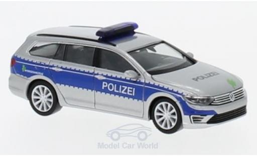 Volkswagen Passat 1/87 Herpa Variant GTE Polizei Hamburg miniature