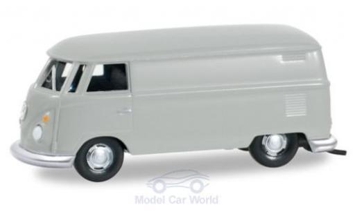 Volkswagen T1 1/87 Herpa Kastenwagen grey diecast model cars