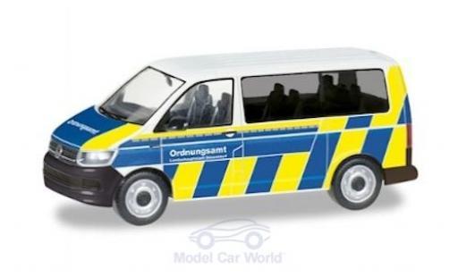 Volkswagen T6 1/87 Herpa Bus Ordnungsamt Düsseldorf diecast model cars