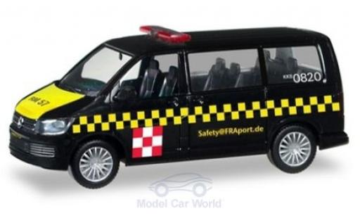 Volkswagen T6 1/87 Herpa Multivan Fraport Safetycar diecast model cars