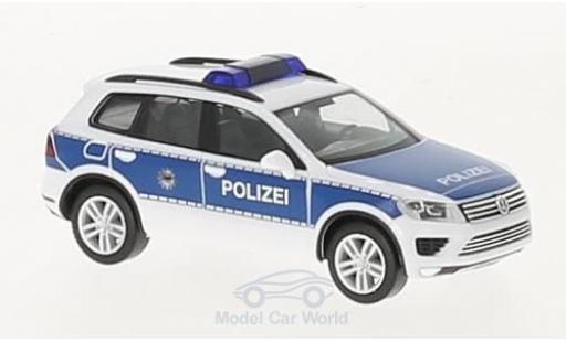 Volkswagen Touareg 1/87 Herpa Bundespolizei diecast