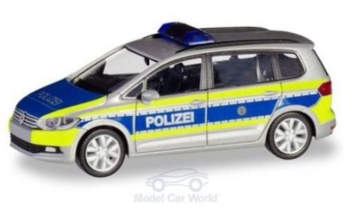 Volkswagen Touran 1/87 Herpa Polizei Nordrhein-Westfalen diecast
