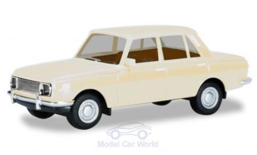 Wartburg 353 1/87 Herpa blanche 1966 miniature