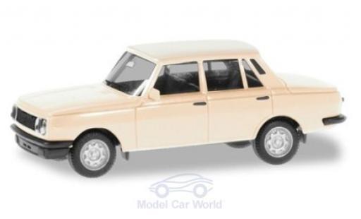 Wartburg 353 1/87 Herpa blanche 1984 miniature