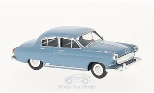 Wolga M21 1/87 Herpa blue diecast model cars