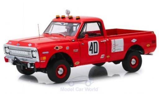 Chevrolet C-10 1/18 Highway 61 Baja 1000 Truck rouge 1969 miniature