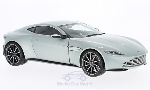 Aston Martin DB1 1/18 Hot Wheels Elite DB 10 grey RHD James Bond Spectre 2015 ohne Vitrine diecast