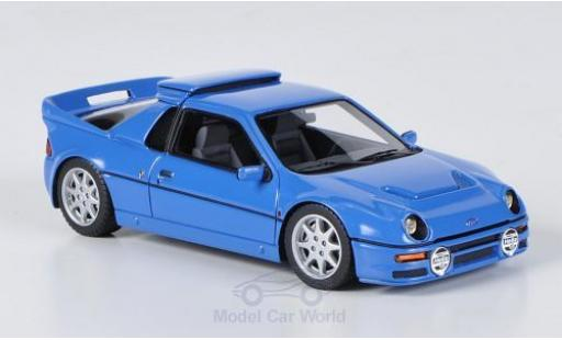Ford RS 200 1/43 HPI MIrage RS200 bleue miniature