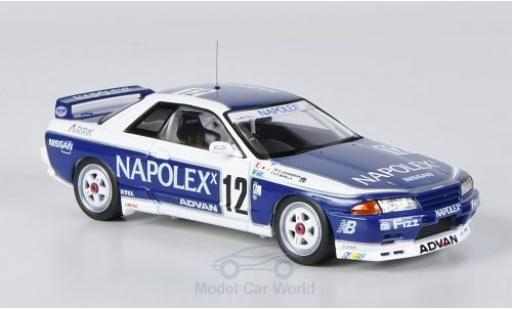 Nissan Skyline 1/43 HPI MIrage GT-R (R32) No.12 Napolex JTCC 1991 S.Johansson/Barilla miniatura