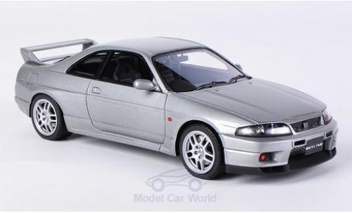 Nissan Skyline 1/43 HPI MIrage GT-R V-Spec (R33) metallise grise RHD