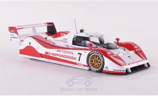 Toyota TS010 1/43 HPI Team Toms SWC 1992 G.Lees/H.Ogawa miniature