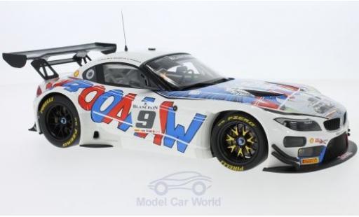 Bmw Z4 1/18 I BMW Group BMW GT3 No.9 Michel Vaillart Blancpain Endurance 24h Spa 2015 A.Zanardi/B.Spengler/T.Glock miniature