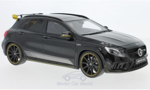 Mercedes Classe GLA 1/18 GT Spirit AMG GLA 45 Yellow Night Edition noire miniature