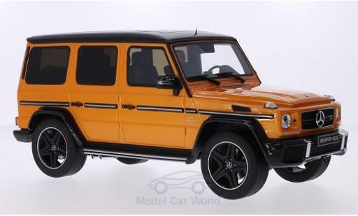 Mercedes Classe G 1/18 GT Spirit G63 AMG Crazy Color Edition métallisé orange/noire miniature