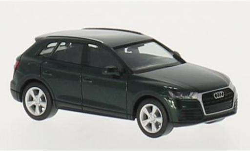 Audi Q5 1/87 I Herpa metallise green diecast model cars