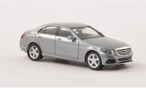Mercedes Classe C 1/87 I Herpa (W205) metallise grise 2014 miniature