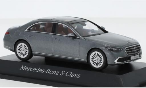 Mercedes Classe S 1/43 I Herpa (V223) metallise grise 2020 miniature