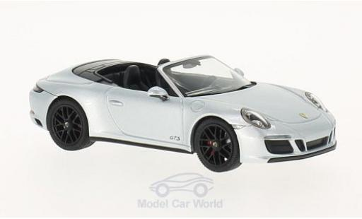 Porsche 991 GTS 1/43 Herpa Carrera 4 grey diecast model cars