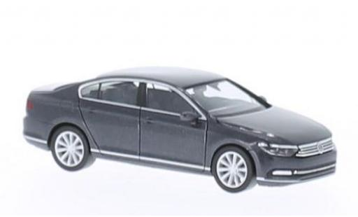 Volkswagen Passat 1/87 I Herpa (B8) Limousine metallise grise 2014 miniature