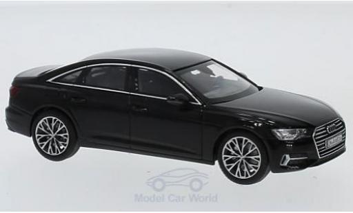 Audi A6 1/43 I iScale Limousine noire 2018 miniature