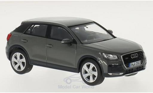 Audi Q2 1/43 iScale grise miniature