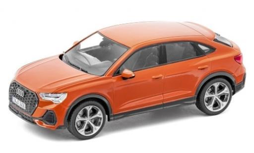 Audi Q3 1/43 I iScale Sportback (F3) metallise orange 2020 diecast model cars
