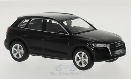 Audi Q5 1/43 I iScale noire 2016 miniature