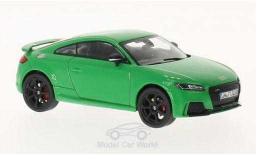 Audi TT RS 1/43 iScale verte 2017 miniature