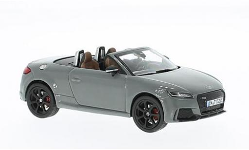 Audi TT 1/43 I iScale RS Roadster grise 2017