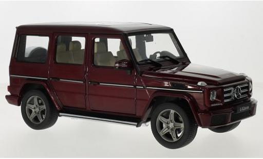 Mercedes Classe G 1/18 I iScale (W463) metallise rouge 2015 miniature