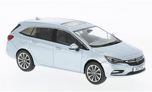 Opel Astra 1/43 I iScale K Sports Tourer metallise bleue 2016 miniature
