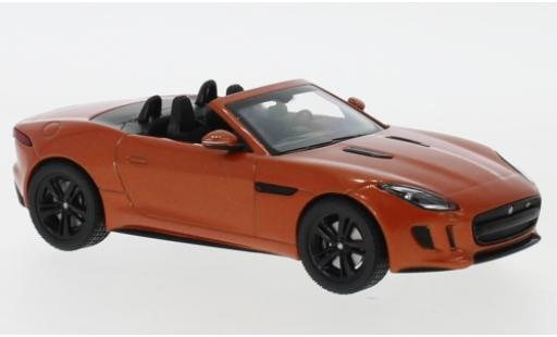 Jaguar F-Type 1/43 I IXO V8 S metallise orange miniature