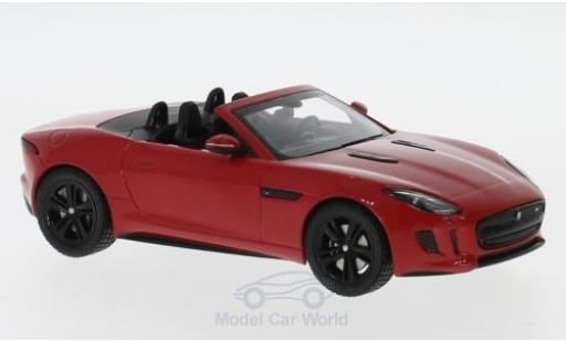 Jaguar F-Type 1/43 IXO V8-S rouge miniature