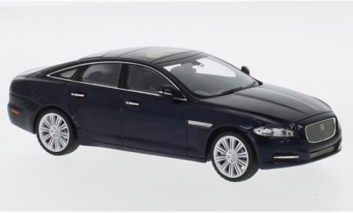 Jaguar XJ 1/43 I IXO (X351) metallise blue RHD 2009 diecast model cars