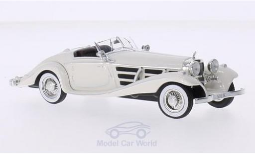 Mercedes 500 K 1/43 IXO (W29) Spezial Roadster blanche miniature