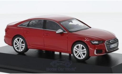 Audi S6 1/43 I Jadi rouge 2019 miniature