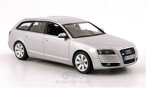 Audi A6 1/43 Minichamps Avant (C6) grigio 2004 miniatura