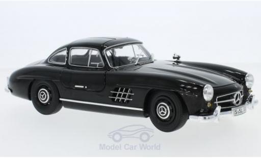 Mercedes 300 SL 1/18 Minichamps SL (W198) negro 1954 miniatura