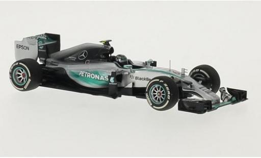 Mercedes F1 1/43 I Minichamps W06 Hybrid No.6 AMG Petronas Formula One Team Petronas Formel 1 -Saison 2015 N.Rosberg miniature