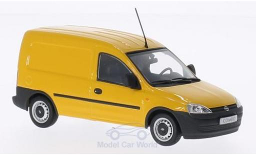 Opel Combo 1/43 Minichamps yellow 2012 diecast model cars