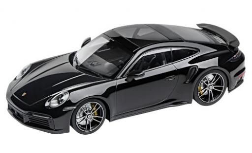 Porsche 992 Turbo s 1/18 I Minichamps 911 Turbo S  black 2020 diecast model cars