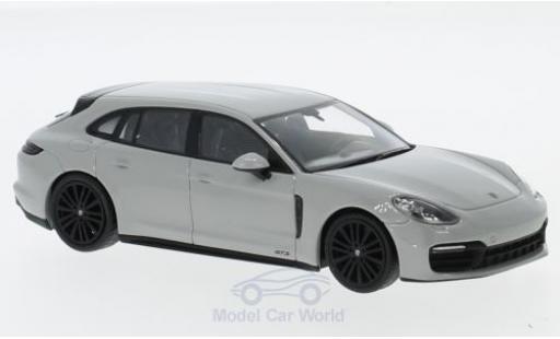 Porsche Panamera Sport Turismo 1/43 Minichamps GTS grise 2018 miniature