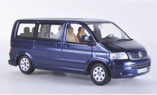 Volkswagen T5 1/43 I Minichamps Multivan metallise bleue 2003 miniature