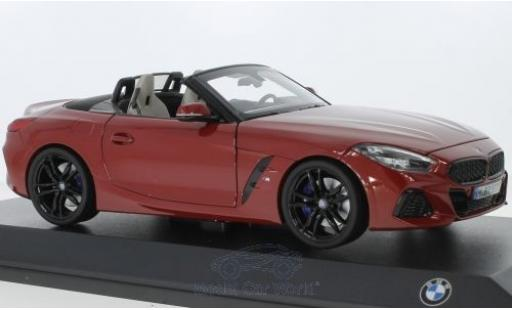 Bmw Z4 1/18 Norev (G29) rouge 2019 miniature